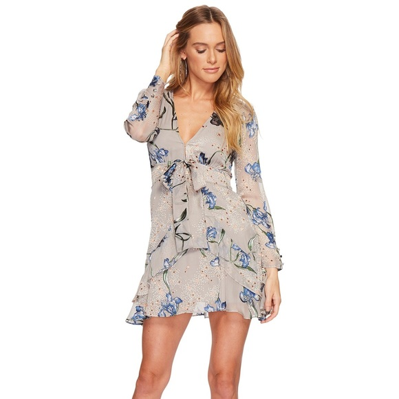 9a4e8fd3534 NWT For Love and Lemons Cleo Floral Party Dress NWT